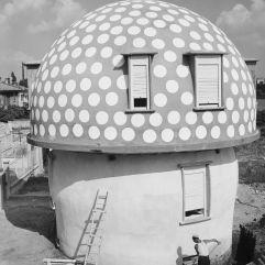 Mario Cavallè, casa a fungo, 1946