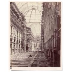 La Galleria in costruzione