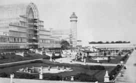 Il Crystal Palace ricostruito a Sydenham Hill a